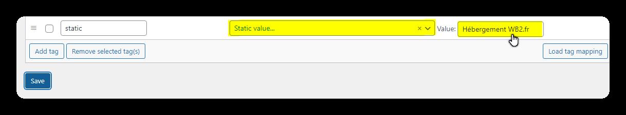 value perso