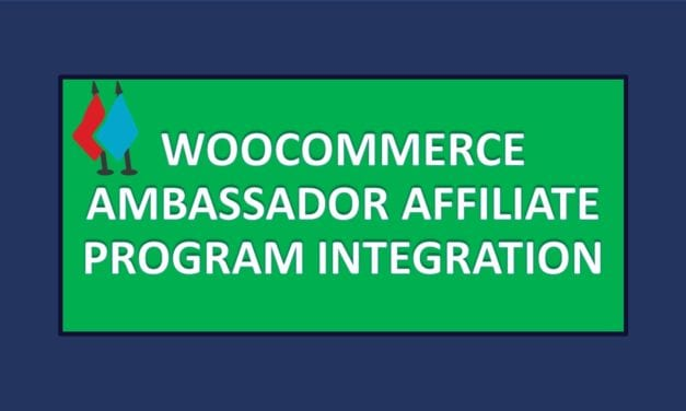 Ambassador Affiliate Program Integration-Ajouter un programme d'affiliation dans WooCommerce