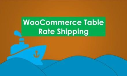 WooCommerce Table Rate Shipping – Frais de livraison avancés pour WooCommerce