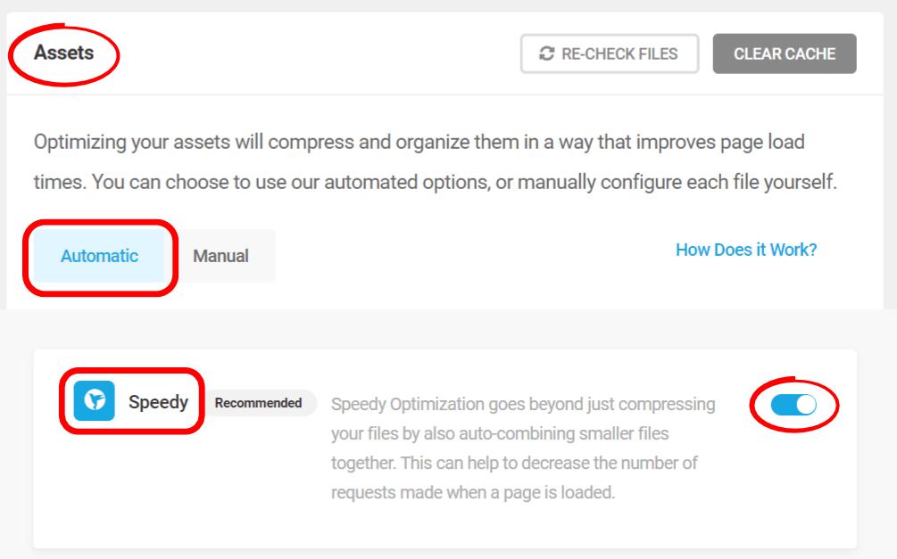 Optimisation des actifs Hbird automatique et rapide